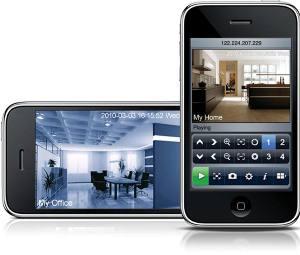 Vidéosurveillance sur Smartphone